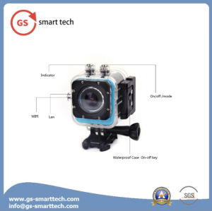 Fisheye Correction Ultra HD 4k Sport Camera WiFi Action Mini Camcorder pictures & photos