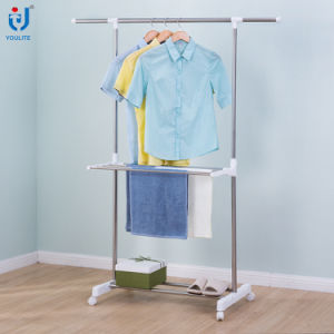 Single Rod Collapsoble Clothes Rack pictures & photos