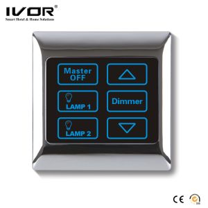 Ivor Touch Screen Light Switch with Dimmer Switch LED Dimmer with Remote Control pictures & photos