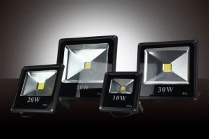 High Power COB IP65 Ultra Slim 85-265V 50W LED Floodlight for Outdoor Use pictures & photos