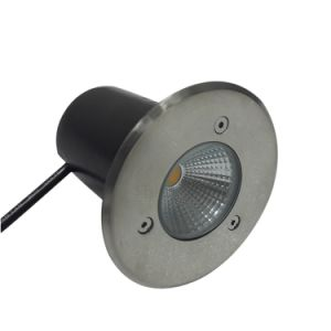 Outdooor Ground Waterproof IP67 3W RGB White LED Underground Light Stainless Steel pictures & photos