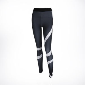 Ladies New Arrvial Yoga Pants Fashion Design Fitness Tights Women Leggings pictures & photos