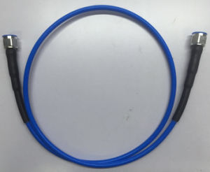 N Male to Male High Power RF Coaxial Test Cable Assembly pictures & photos