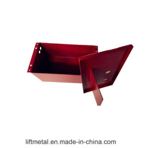 Custom Metal Fabrication Steel Processing Machinery Parts (LFCR0010) pictures & photos