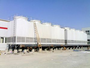 Counter-Flow Square Water Cooling Tower for Plastic Injection pictures & photos
