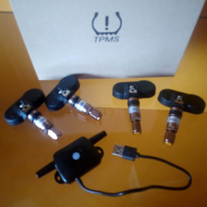 TPMS Tire Pressure Monitor System with 4sensors pictures & photos