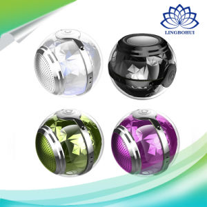 Magic Crystal Ball Mini Super Bass Loudspeaker Colorful Bluetooth Speaker pictures & photos