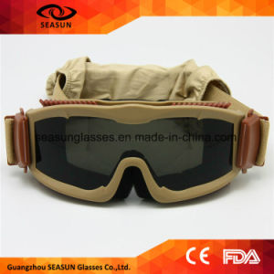 Fashion Style Airsoft Safety Glasses TPU Frame Material Safety Military Eye Glasses pictures & photos