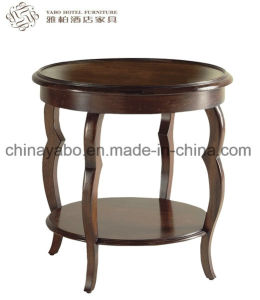 Wooden Side Table with Shelf for Hotel pictures & photos