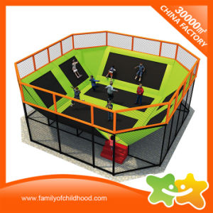 New Arrival Kids Indoor Fitness Professional Trampoline Bed for Sale pictures & photos