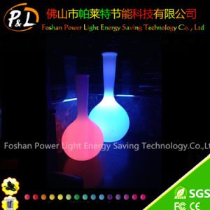 Home Decorative Plastic LED Lighted Vase pictures & photos