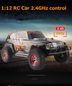 1/12 Scale Electric 4WD High Speed SUV off-Road RC Car
