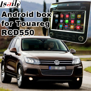 Android GPS Navigation System Video Interface for Volkswagen Touareg RCD550 pictures & photos