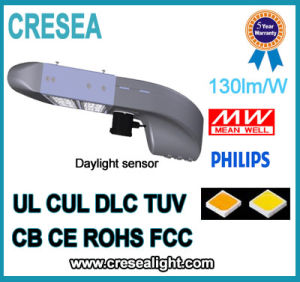 UL/cUL Dlc Listed Parking Garage LED Street Light 200W with Bronze Housing pictures & photos