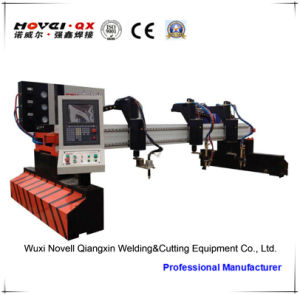 Double Drive CNC Plasma Cutting Machine (CNC-CG7000B) pictures & photos