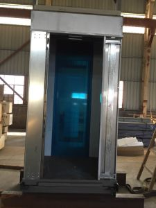 Hotel Passenger Lift with High Quality 304 Stainless Steel Cabin pictures & photos
