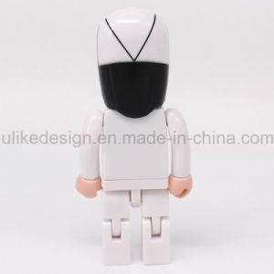 Hot Sale Plastic USB Flash Drive (UL-P022) pictures & photos