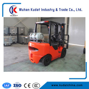 Counterbalanced LPG Forklifts Truck 3.5ton Gas Forklifts pictures & photos