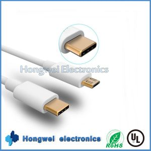 Hi-Speed Gold Plated USB3.1 Type C to Micro Data Sync Charge USB Cable pictures & photos