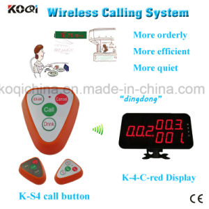 Wireless Waiter Call System with Watch Pager Table Bell Ring pictures & photos
