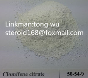 99% Clomiphene Citrate Antineoplastic Crude CAS: 50-41-9 pictures & photos