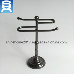 Sanitary Ware Chrome, Nikel or Bronze Plated Hardware Bathroom Towel Holder pictures & photos