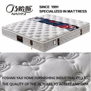 Hot Selling Spring Mattress with High-Density Foam (FB738) pictures & photos