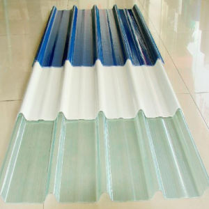 Transparent Lexan Clear Color Coated Polycarbonate Corrugated Roofing Sheet pictures & photos