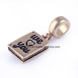 Custom Made Metal Logo Charms Pendant Wholesale pictures & photos