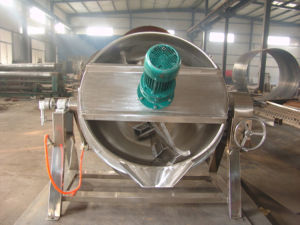 Sanitary Stainless Steel Gas Heating Jacketed Kettle pictures & photos