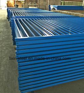Powder Coat Steel Fence Metal Railing pictures & photos