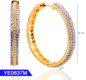 Fashion Jewelry Silver or Brass Huggie Hoop Earrings for Women pictures & photos