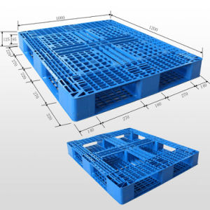 1210 Wholesale Light-Duty Plastic Pallet Manufacture and Supplier pictures & photos