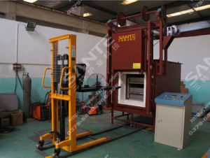 Electric Hearth Heat Treatment Bogie Furnace pictures & photos