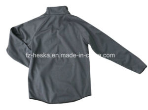 New Custom Long Sleeve Softshell Men Grey Sweatshirt pictures & photos