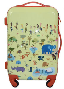 Popular Leisure Design for Travelling ABS+PC Cartoon Printed Luggage pictures & photos