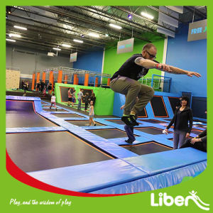 China Large Indoor Trampoline Park Golden Manufacturer pictures & photos