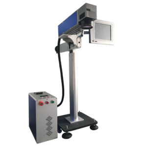 Online Laser Marking Machine Full Set up for India Market pictures & photos