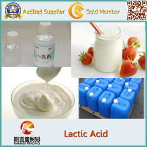 Bulk Sale Cosmetic Raw Material Lactic Acid pictures & photos