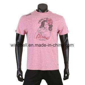 Color Melange T Shirt for Men pictures & photos