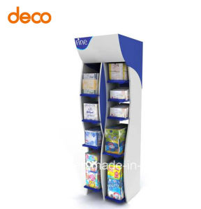 Corrugated Paper Board Display Cardboard Display Stand for Retail pictures & photos