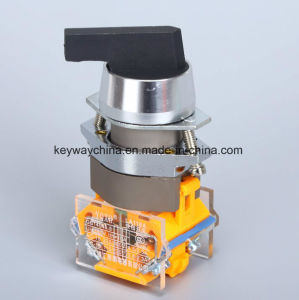 Longer Handle Rotary Push Button Switch pictures & photos