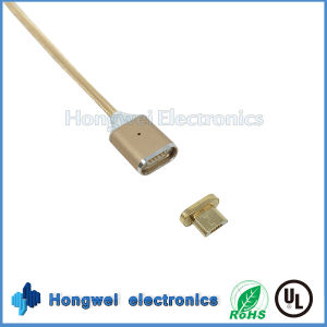 Mobile Phone Accessories Charging Date Nylon Micro Magnetic USB Cable pictures & photos
