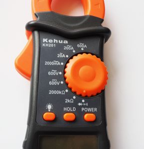 Digital Clip-on Ammeter (KH201) with ISO Certified pictures & photos