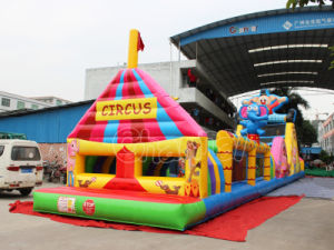 Circus Inflatable Obstacle Course Bouncer Obstacle for Kids pictures & photos
