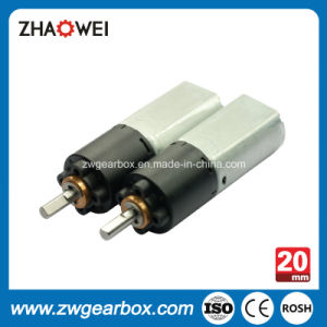 High Efficiency 9.0 Volt 20mm Small DC Gear Head Motor pictures & photos