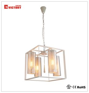 Victory Hot Selling LED Modern Pendant Light, LED Glass Hanging Light pictures & photos