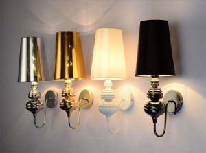 PVC Shade Bedside Wall Light Lamp with Several Color pictures & photos