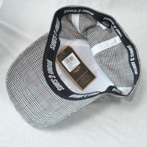 Custom Wool Baseball Cap Structured Flexfit Cap with 3D Embroidered pictures & photos
