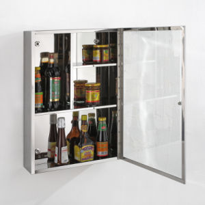 High Quality Low Price Stainless Steel Bathroom Storage Cabinet 7038 pictures & photos